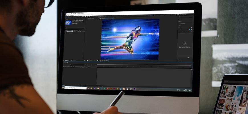 Научете се как да обработвате различни визуални елементи с Adobe After Effects