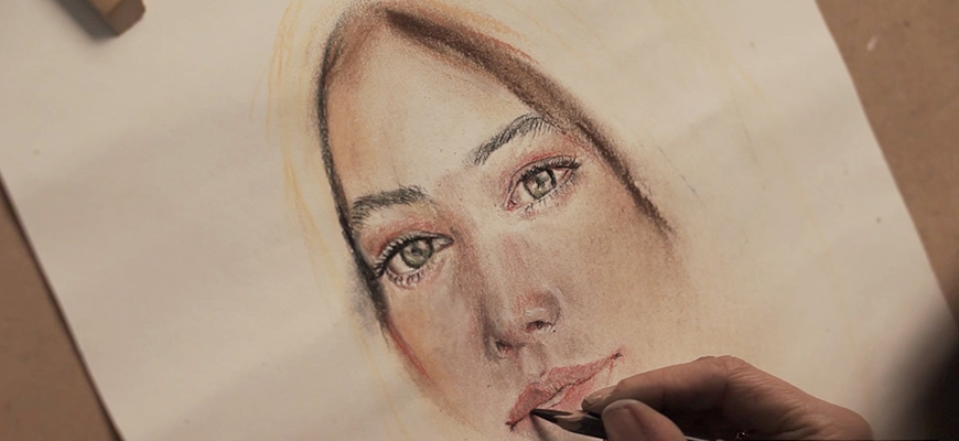 Научете как да рисувате портрет