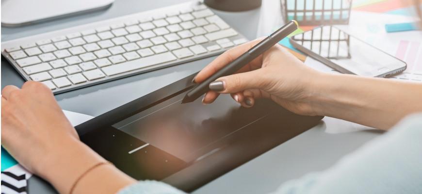 Поставете основите на рисуването с дигитален таблет